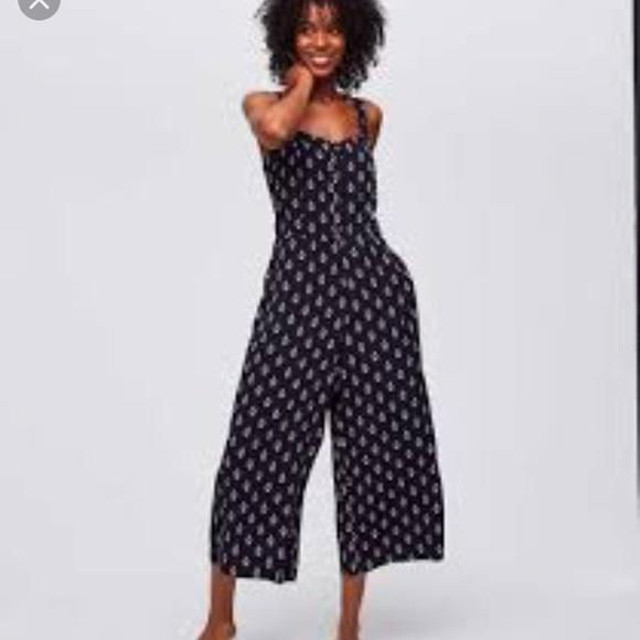 342d689e0ff LOFT Pants   Bandana Wide Leg Jumpsuit   Poshmark